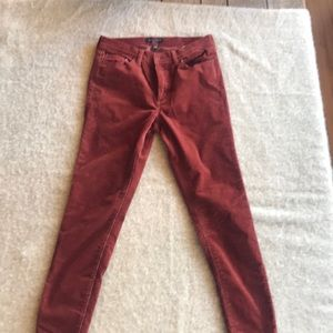 Corduroy pants stretchy